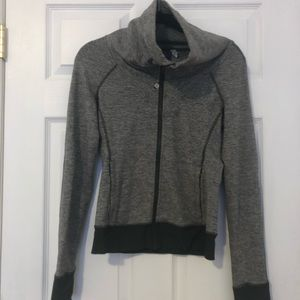 Heather Grey Lululemon Jacket Zip-Up